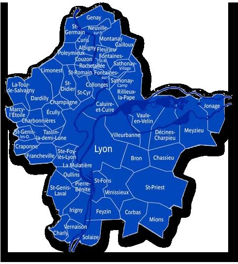 Intervention sur Lyon et environs St Priest, Bron, Vénissieux, les
